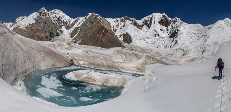 Вверх по леднику Звездочка
