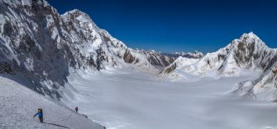 Внизу ледник Звездочка