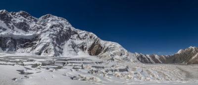 пик Победы с ледника Звездочка
