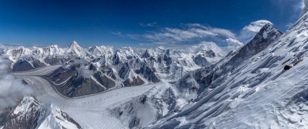 Панорама ледника Звездочка