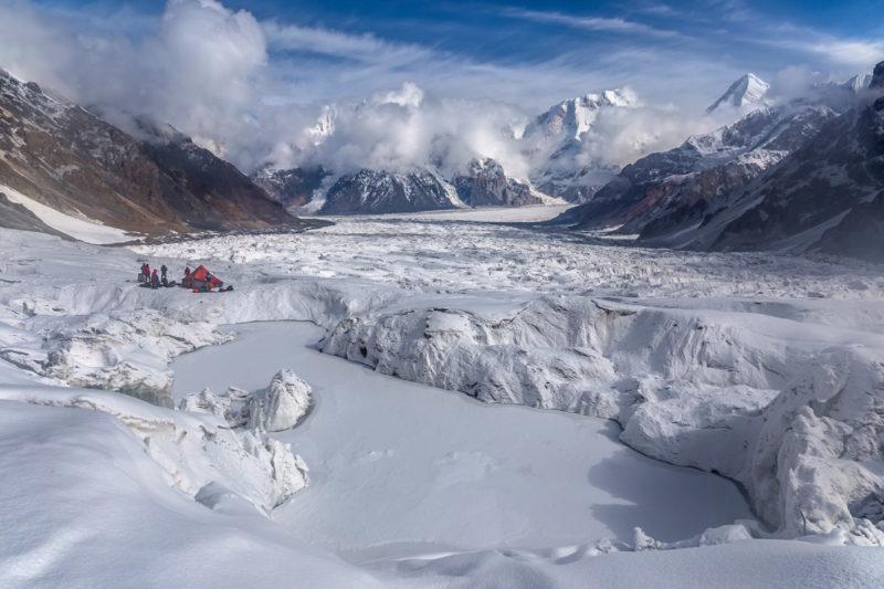 Замерзшее озеро на Звездочке