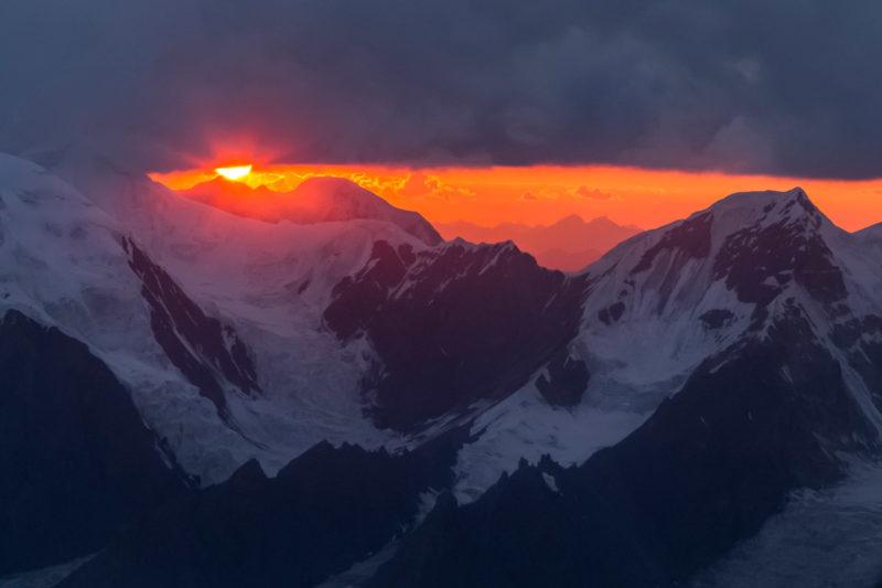 Закат на Тянь-Шане