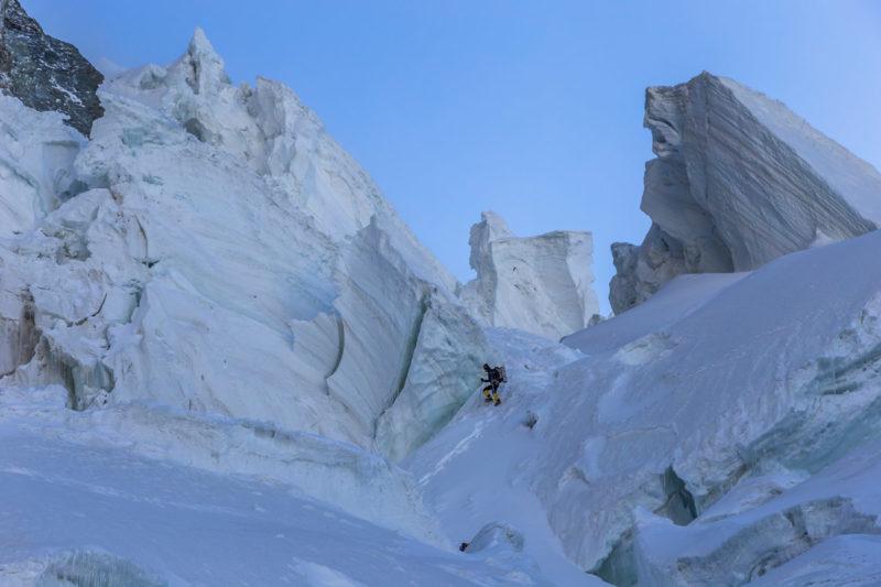 Ледопад на леднике Семеновского