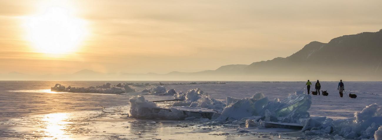Коньковый поход по Байкалу