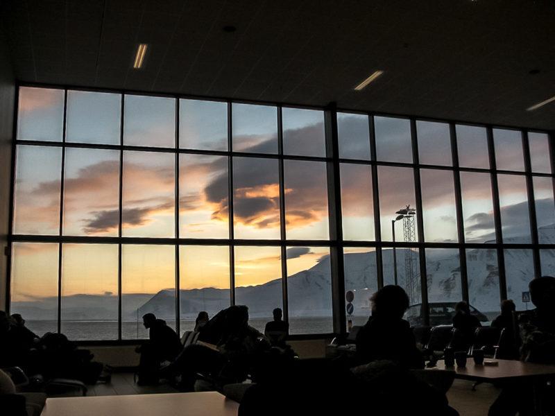 Аэропорт в Лонгиирбьене