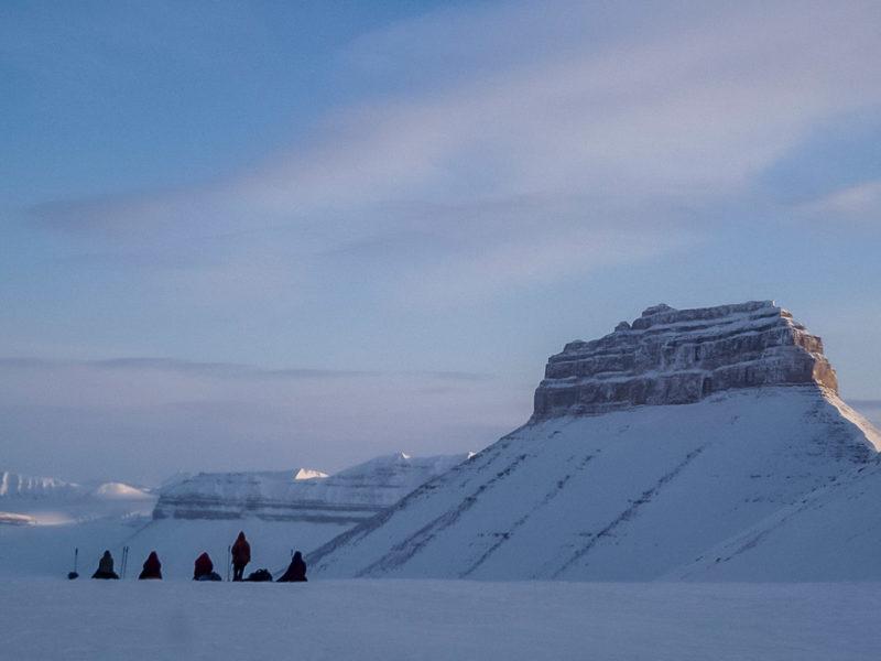 Лыжный поход по Шпицбергену