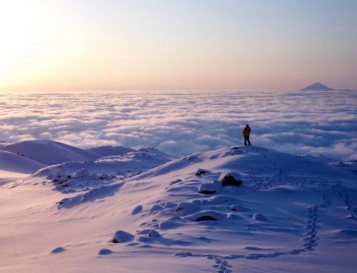 Лыжный поход 6 к.с. по Камчатке в марте-апреле 2015