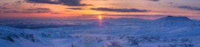 Рассвет на Камчатке