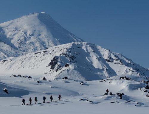 Отчет о лыжном походе 6 к.с. по Камчатке в марте-апреле 2015 года.
