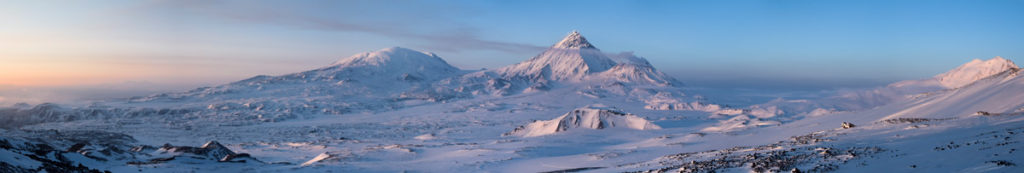 Панорама со склонов Плоского Толбачика