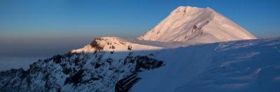 Острый Толбачик с плато Плоского