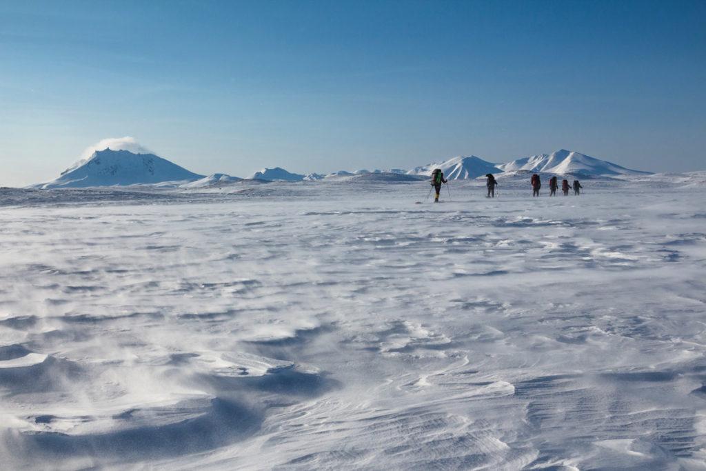 Лыжный поход по Камчатке
