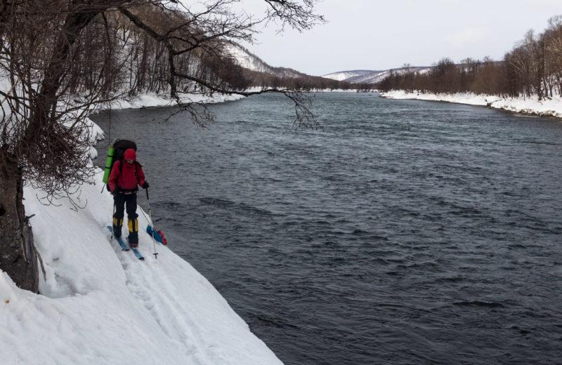 Прижимы на реке Жупанова