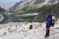 В ледопаде Шагазы