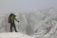 В ледопаде Кашал-аяка