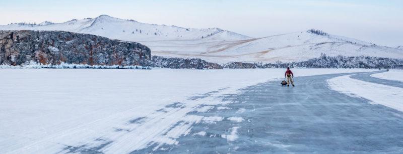 Зимник по Малому морю