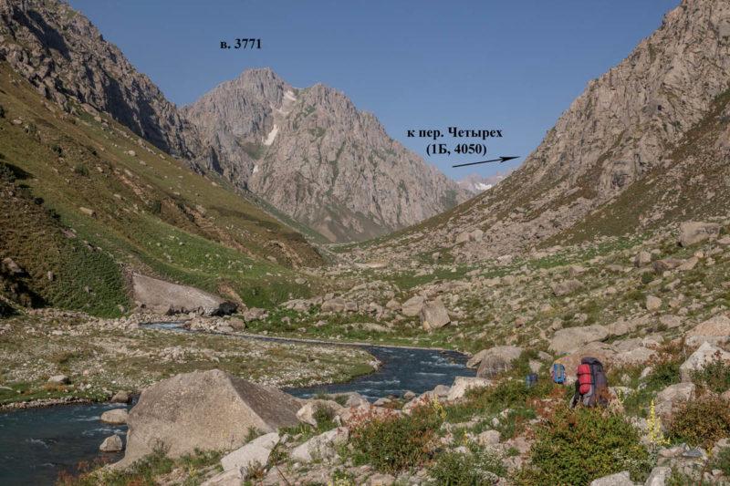 Река Сиама в среднем течении, выше места ночевки