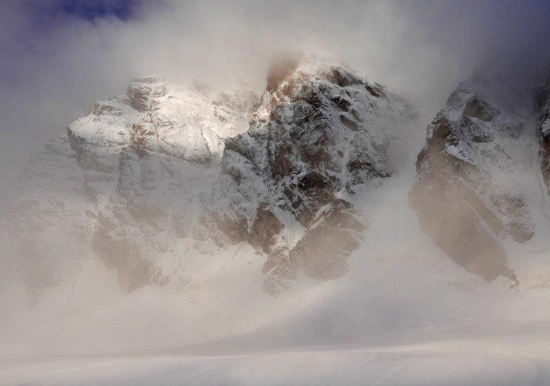 Массив Ходжалокана (4765) после снегопадов