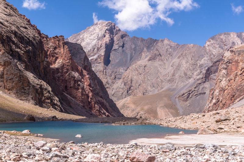 Озеро Верхнее Алло и перевалы Седло Сарышаха - Межозерный