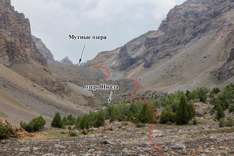 Верхняя часть долины р. Чапдара (Алаудин)