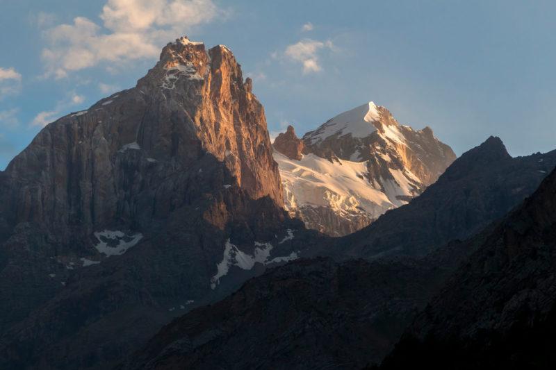 Вершины Адамташ и Мирали