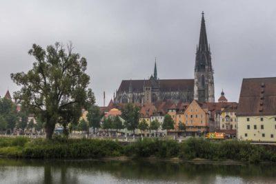 Регенсбург на Дунае