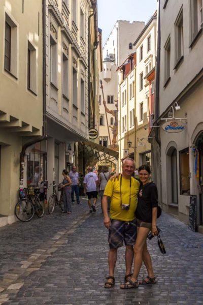 Улочки Регенсбурга