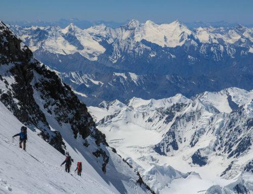 Небольшая история траверса большой горы