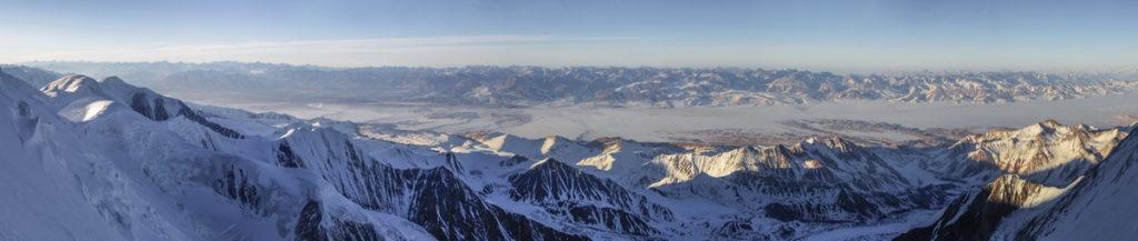 Панорама Алайской долины