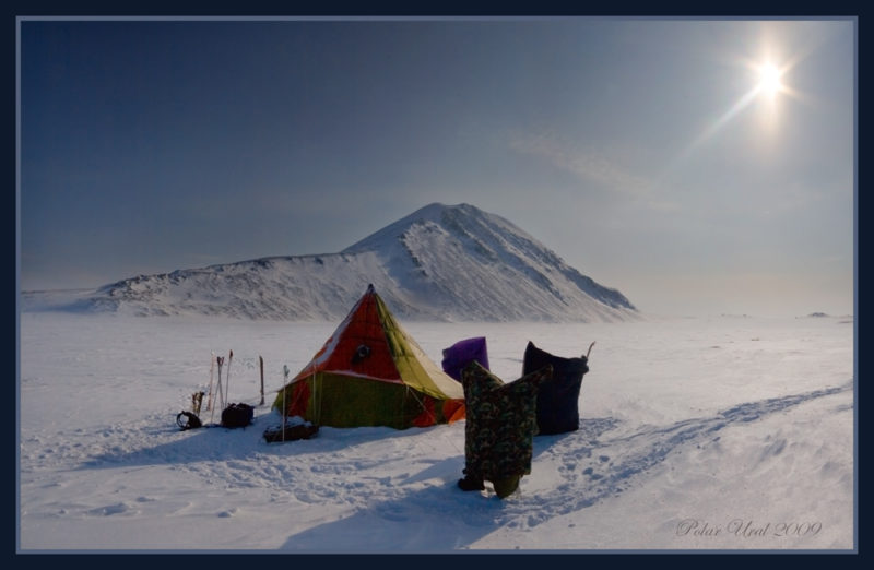 Лагерь на озере Манясейтоо