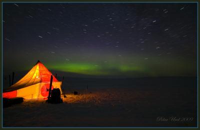 Ночевка на льду Байдарацкой губы