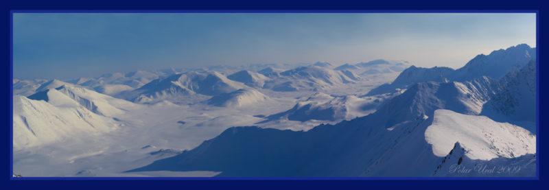 Панорама на юг с вершины Нгэтэнапэ