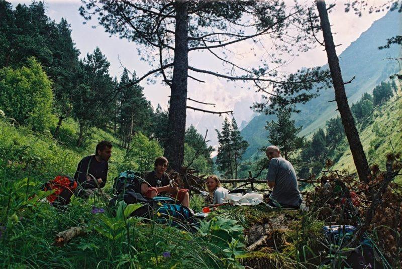 Обед в долине Курмычи