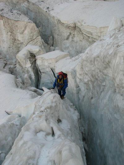 Ушбинский ледопад