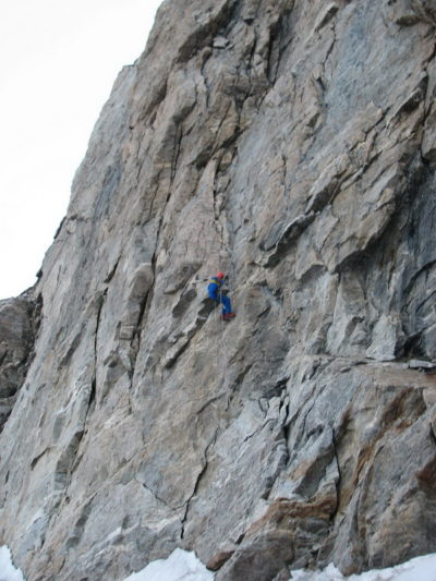 На спуске с вершины Адырсу
