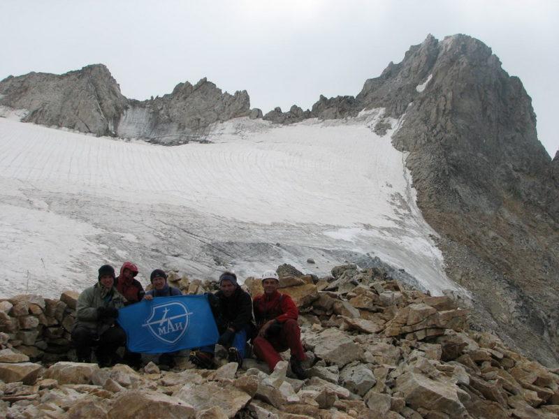 У тура на перевале Чат