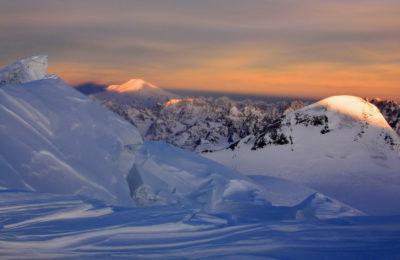 Вид на Эльбрус