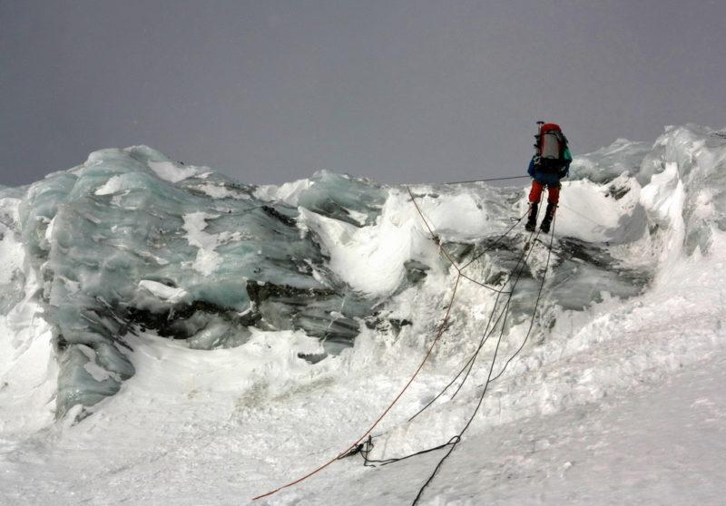 Спуск с перевала Чюрлениса