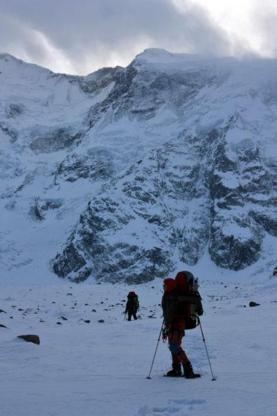 На Безенгийском леднике