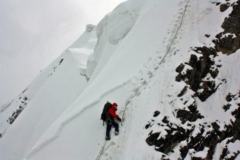 Западный гребень вершины Удобная
