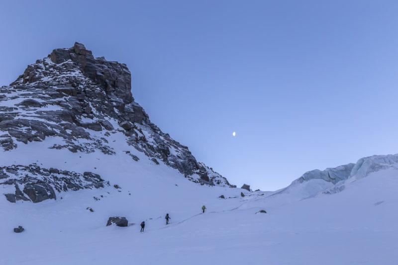 Подъем на Софийский ледник