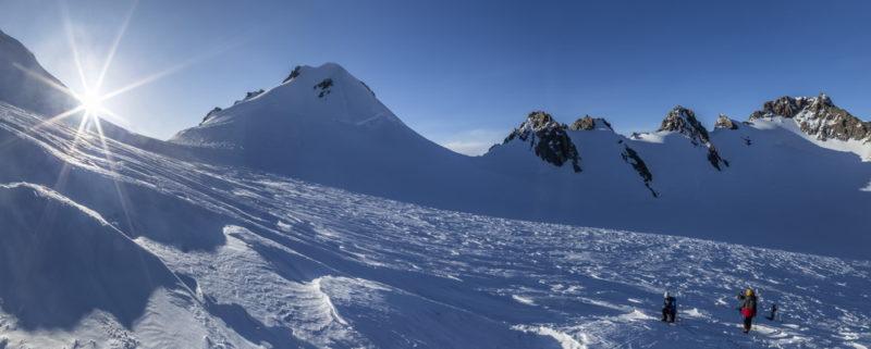 Верховья Софийского ледника