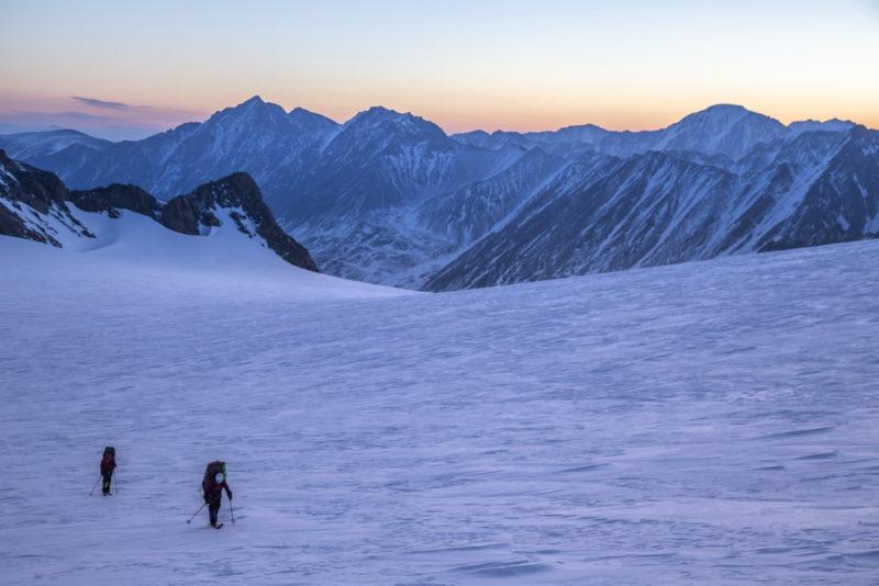 По Софийскому леднику