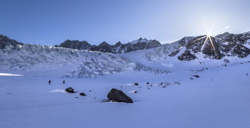 Ледопады Талдуринского ледника