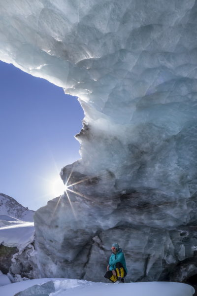 Язык Талдуринского ледника