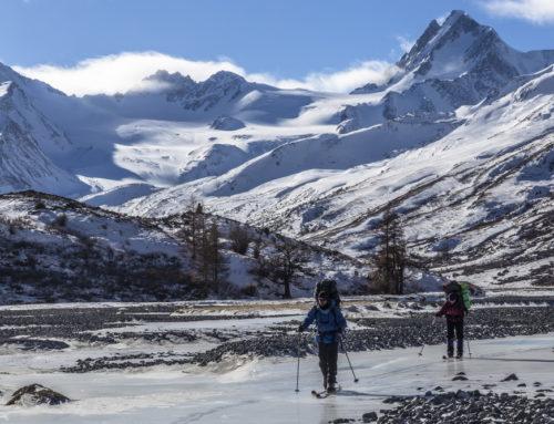 Лыжный поход по Алтаю в феврале 2018