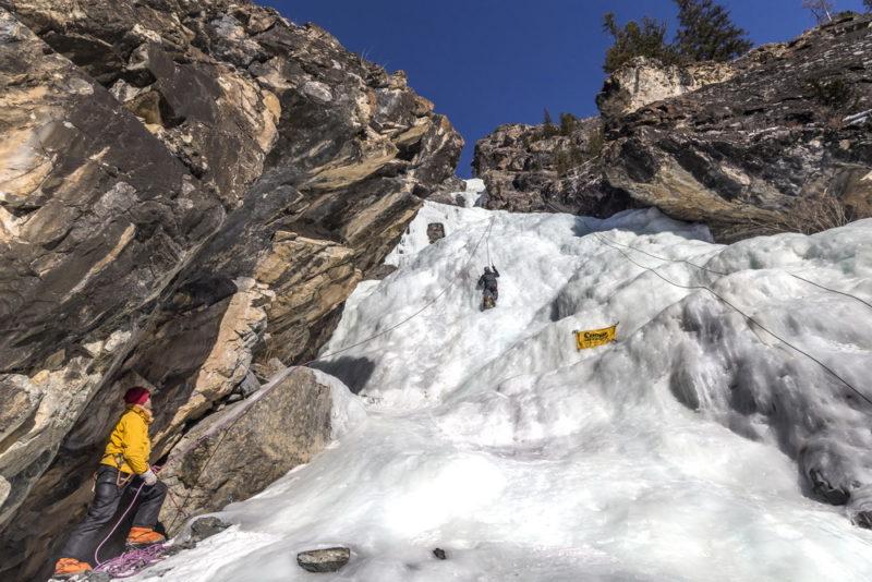Ледопад в Акташе
