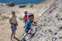 Детское скалолазание