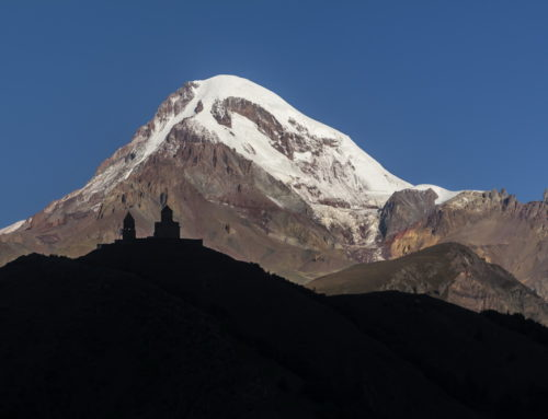 Фотографии Казбека (5033 м)
