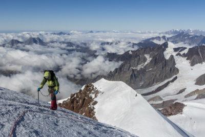 Выход не вершину Казбека